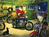 Tom Newsome Motorcycle Santa 500pc Jigsa...