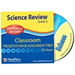 NewPath Learning Science Interactive Whiteboard CD-ROM, Site License, Grade 6