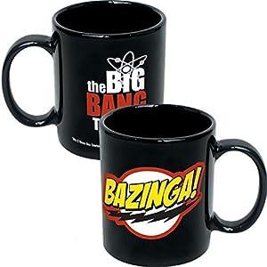 Big Bang Theory Ceramic Coffee Mugs- Bazinga!