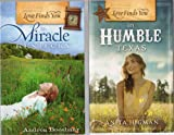 img - for Love Finds You Three Book Set: Humble in Texas; In Snowball Arkansas; In Miracle Kentucky book / textbook / text book
