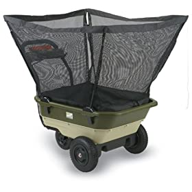 Neuton Garden Cart Heavy Duty Nylon Mesh Leaf Catcher #20721