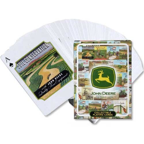 John Deere Vintage Ad Playing Cards 0