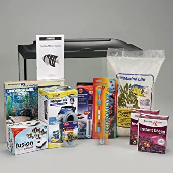 Marine aquarium kit basic 20 gal without for 20 gallon fish tank kit