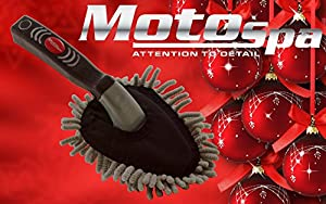 Great Stocking Stuffers- Auto Detailing Multipurpose Microfiber Car Dash Duster From Motospa For Dusting Surfaces In Your Car And Home by Cixi Yaxiang Commodity CO Ltd