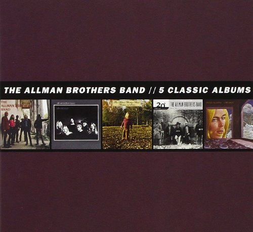 5 Classic Albums [5 CD] (Allman Brothers Box Set compare prices)