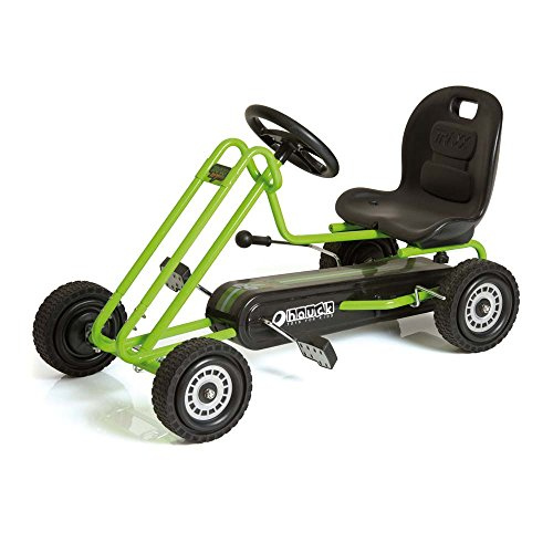Hauck-Lightning-Pedal-Go-Kart-Race-Green
