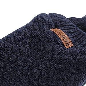 84a47faa675 XIAOHAWANG Warm Baby Hat Cute Bear Toddler Earflap Beanie for Fall Winter  (0-7Months