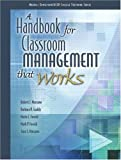 img - for By Robert J. Marzano - A Handbook for Classroom Management that Works: 1st (first) Edition book / textbook / text book