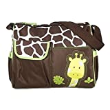 Mochilas de Beb� Bolsa De Pa�ales Cambiar Pa�al Bolso Multifunctional para madre -Patr�n Giraffe