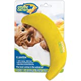 OurPets 100-Percent North American Catnip Filled Banana Cat Toy A Peeling