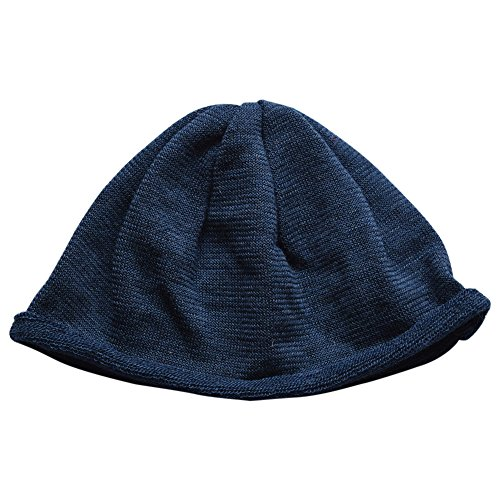 Merino Wool Baby Kids Beanie Hat (54-56cm, Navy) (39 Fifty Hats compare prices)
