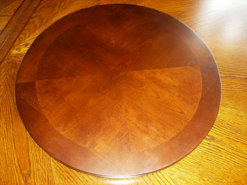 Wood Lazy Susan Espresso/Cappuccino (Lazy Susan Kitchen Cabinet Parts compare prices)