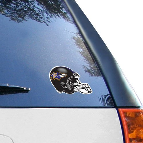 NFL Baltimore Ravens 4.5'' x 6'' Team Helmet Ultra Decal Cling (Football Clings compare prices)