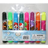 Nintendo Super Mario Bros. Mariokart 8 Pack Markers Party Favors / Officially Licensed