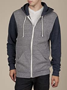 Men's Color-Block Rocky Zip Hoodie