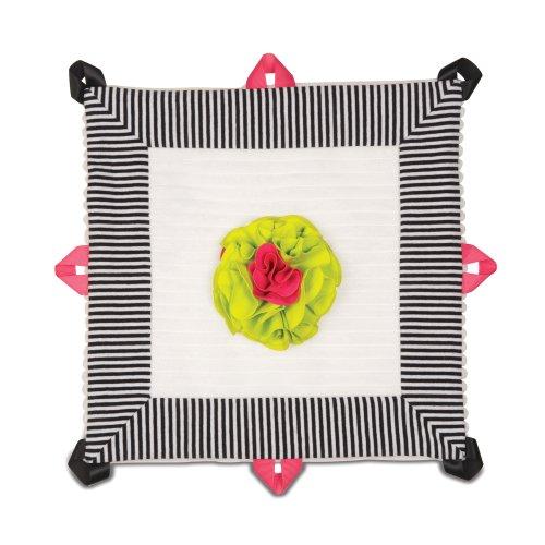 """Pavilion Gift Company Lovie Baby Blanket, Sassy Diva, 13"""""""