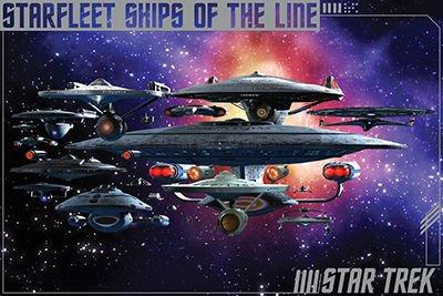 poster-Star Trek-Navi della linea artistica da parete con licenza Gifts Toys 241320