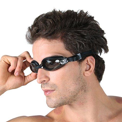 VENI MASEE Klassischen desing Korrekturmaßnahmen kurzsichtigen optische Schwimmbrille (Dioptrien -1.5 bis -9.0), Preis / Stück