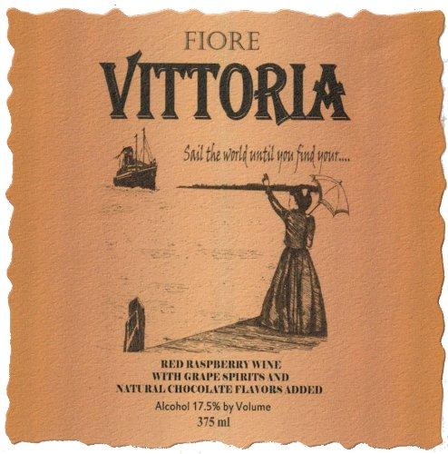 """Nv Fiore Winery """"Vittoria"""" Fruit Wine 375 Ml"""