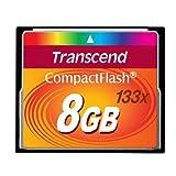 Transcend 8 Go Carte m�moire CompactFlash (CF) 133x TS8GCF133par Transcend