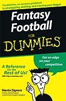 Fantasy Football For Dummies<sup>®</sup>