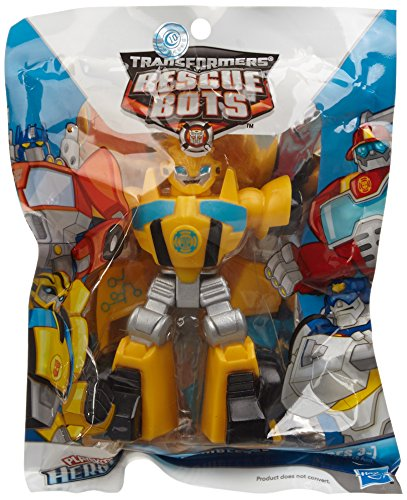 Transformers Rescue Bots Playskool Heroes Action Figure Bumblebee - 1
