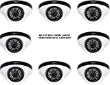 Puffin S28330-8 1000TVL Night Vision Dome Camera (8 PCs)