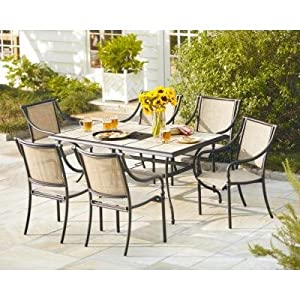 New high quality elegant 7 piece patio dining for High quality outdoor furniture