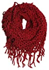 ForeverScarf Knitted Fishnet Chain Loop Eternity Infinity Scarf