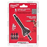 Milwaukee 48-32-2350 SHOCKWAVE Conduit Reaming Bit Holder 1/2in, 3/4in & 1in EMT