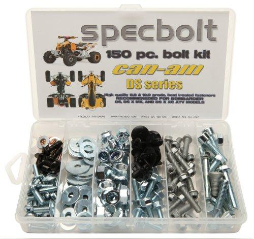150pc-specbolt-can-am-bombardier-atv-bolt-kit-for-maintenance-restoration-for-the-ds-sport-mud-recre
