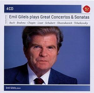 Emil Gilels plays Great Concertos and Sonatas