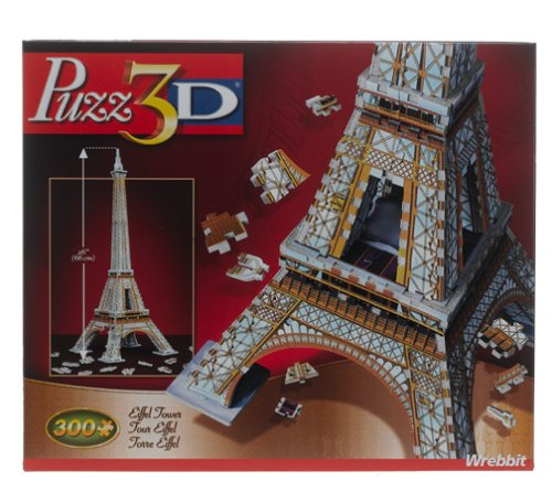 Picture of Hasbro 3D Eiffel Tower Puzzle 300pc (B0006FZ9DC) (3D Puzzles)
