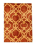 Design Community By Loomier Alfombra Oz Ziegler Mirage (Oro/Teja)