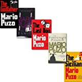 Mario Puzo The Godfather Mario Puzo 5 Books Collection Set, (The Fortunate Pilgrim, The Family, The Last Don, The Sicilian and The Godfather
