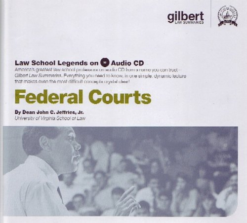 Law School Legends Federal Courts (Audio CD) (Law School Legends Audio Series)
