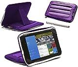 Navitech Purple 7 inch Neoprene Cas