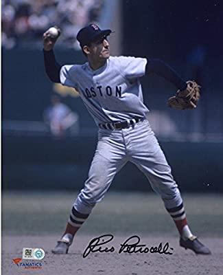 """Rico Petrocelli Boston Red Sox Autographed 8"""" x 10"""" Throwing Photograph - Fanatics Authentic Certified"""