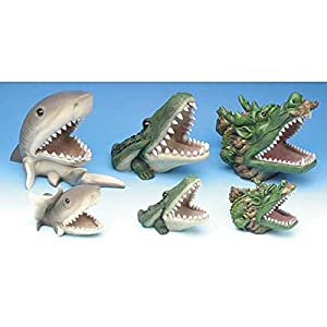 Penn plax small shark aquarium resin ornament Small sharks for fish tanks