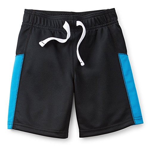Carter's Baby Boys' Mesh Active Shorts-Black/Blue-18 Months