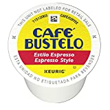 Cafe Bustelo Espresso Style, K-Cups for Keurig Brewers, 12 count (Pack of 6)
