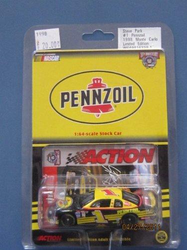 Steve Park #1 Pennzoil 1998 Monte Carlo Limited Edition - 1