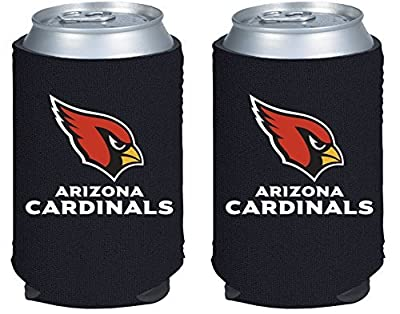 NFL Football 2014 Team Color Logo Can Kaddy Holder Koozie Cooler 2-Pack