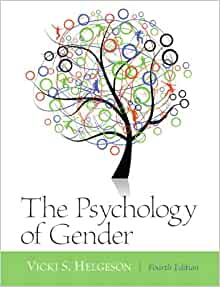Psychology of gender helgeson 4th edition
