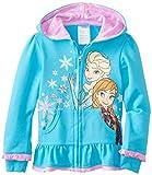 Disney Little Girls' Anna and Elsa Hoodie