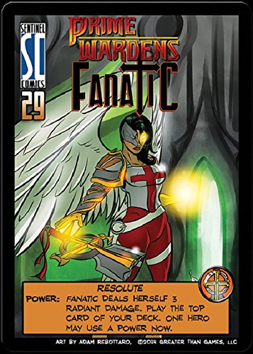 Sentinels of the Multiverse : PRIME WARDEN HERO Expansion Promo - Prime Warden FANATIC