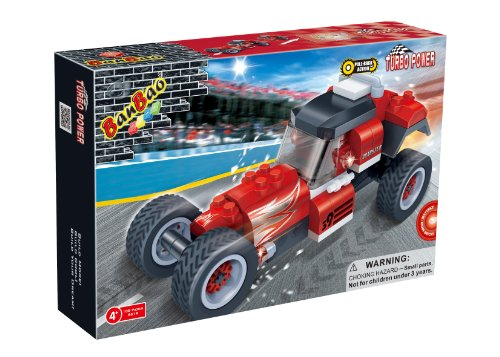 BanBao Roadster Toy Building Set, 105-Piece
