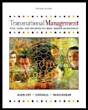 Transnational Management: Text and Cases