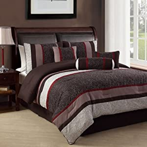 Clayton 8 Piece Comforter Set | Sales