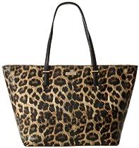 kate spade new york Medium Harmony PXRU4423 Shoulder Bag,Leopard,One Size